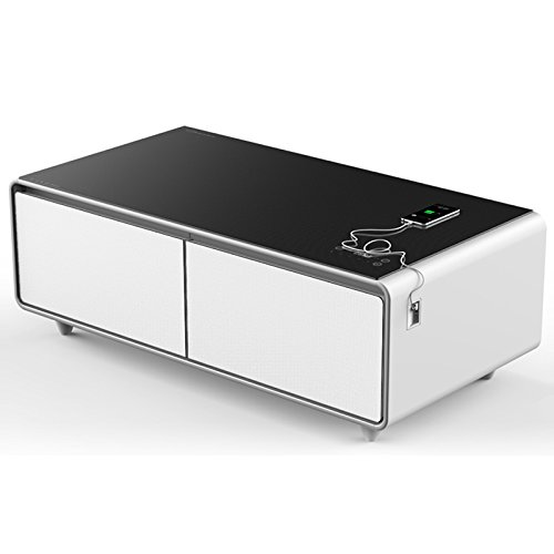 Coffee Table With Fridge Drawer: PRIMST Refrigerator Coffee Tables Built-In Beverage Cooler