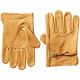 Carhartt Mens Full Grain Leather Driver Work Glove
