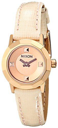 Nixon Women's A3381532 Mini B Stainless Steel Watch (Watch Mini 23 Ladies)