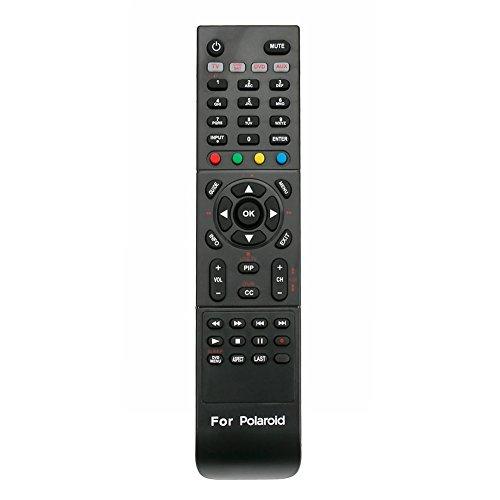 New RC-201 Replaced Remote fit for Polaroid TV TLA04641 TDX-03211C 845C45GF1XAPH FLX374 TDX02611C TDX03211C FLM-4034B FLM-4234BH TDA-03211C TDX-01930B 1513-TDXB 1913-TDXB 2611-TLXB 3211-TLXB 2611TLXB ()