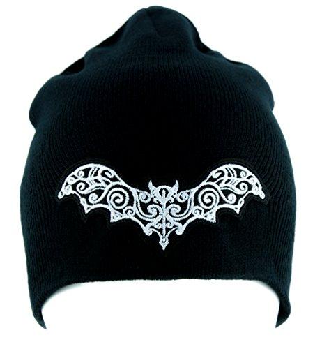Elegant Vampire Bat Beanie Alternative Gothic Clothing Knit Cap Nosferatu