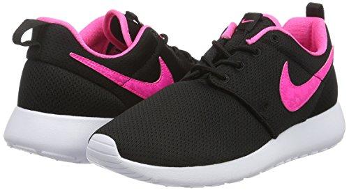 Shoe One Corsa Unisex gs Scarpe Nike white Black bambini Schwarz Roshe 014 Blast Da pink SxgqBxZw