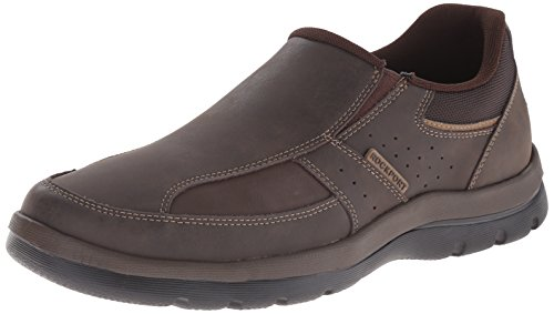Rockport Men's Get Your Kicks Slip-On Brown Loafer 13 M (D)-13 M -