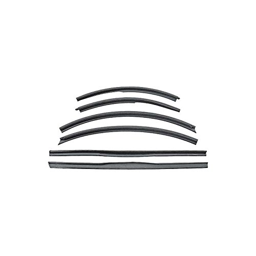 - MACs Auto Parts 49-19540 Convertible Roof Rail Seal Kit - 6 Pieces - Does Not Include Header Seal - Only
