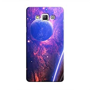 Cover It Up - Bright Planet View Galaxy A5 Hard Case