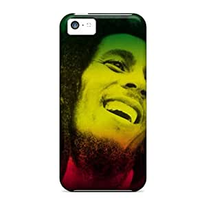 Iphone 5c Jzf10978KIlC Custom High Resolution Bob Marley Image High Quality Hard Phone Cases -DannyLCHEUNG
