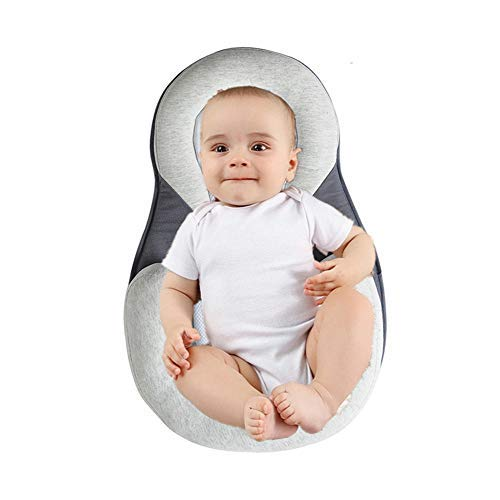 Great Deal! Baby Stereotypes Pillow Infant Newborn Anti Rollover Mattress Pillow for 0 12 Months Bab...