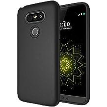 LG G5 Case, Diztronic Full Matte TPU Series - Slim-Fit Soft-Touch Thin & Flexible Phone Case for LG G5 - Full Matte Black