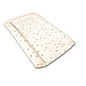d1239e5f4e18 Baby Changing Mat Coffee & Cream Polka Dot: Amazon.co.uk: Baby