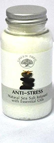 GREEN TREE CANDLE 5060116872477 Anti-Stress Sea Salt Aroma Burner