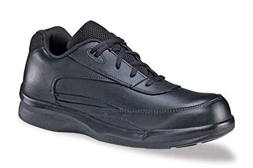 (Apex Ambulator Men's Active Walker Tie Walking Shoes )