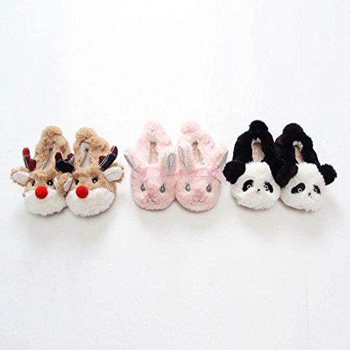 BZLine Baby Cartoon Design Kleinkind wärmen Krippe Schuhe Hausschuhe Schuhe Schwarz
