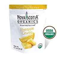 Organic Freeze Dried Pineapple Chunks Snacker Pack (6 x 20g); Certified Organic; Vegan