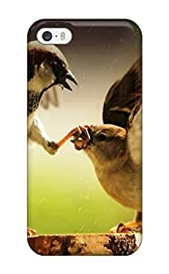 DavidMBernard Scratch-free Phone Case For Iphone 5/5s- Retail Packaging - Finch Fight