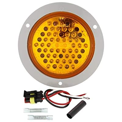 Truck-Lite (44104Y) Strobe Lamp Flange Kit: Automotive