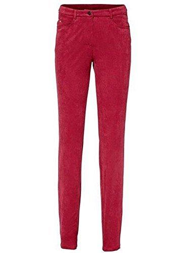 Courte Pantalon Heine De Tube Taille Femmes Rouge 4Anvtq