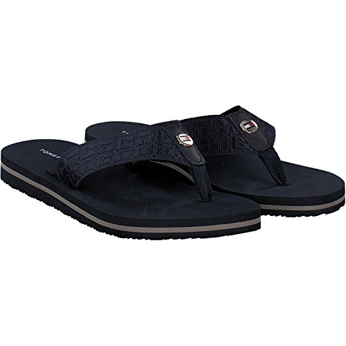 Tommy Hilfiger Damen Comfort Low Beach Sandal Zehentrenner Midnight