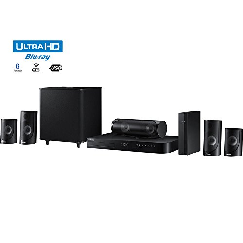 Samsung HT-J5500W - 5.1ch 1000-Watt 3D Smart Blu-ray - Hd Antenna Samsung