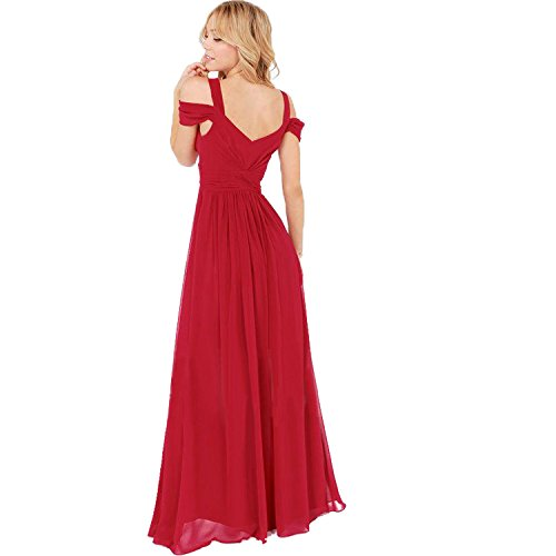 Maxi dress for women, V-Neck Sleeveless Maxi long dress, summer dress at Amazon Womens Clothing store: