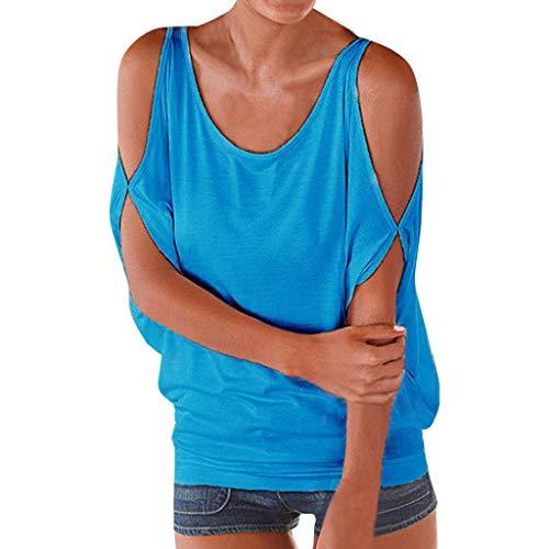 (Sweatshirt Crop Tops Cute Cat Ear Sweatshirt Crop Top Hoodies Pullover Blue)