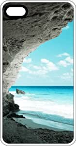 meilz aiaiOcean Carved Rock Formation Clear Rubber Case for Apple iPhone 5 or iPhone 5smeilz aiai