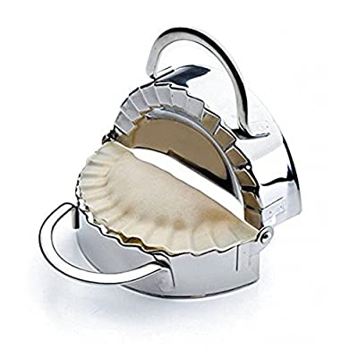 Free Shipping New Pastry Tools Stainless Steel Dumpling Maker Wraper Dough Cutter Pie Ravioli Dumpling Mould Kitchen Accessories