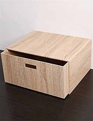 KKCF Cajón de Madera Grande de la Caja de almacenaje - Estilo Hogar Cajas de Acabado de