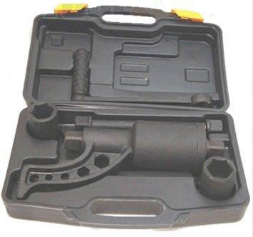 Toolzone AU063 - Multiplicador de fuerza con 2 llaves de vaso de 32 y 33 mm