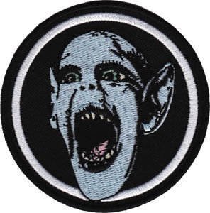 Novelty Iron on Patch - Weekly World News Bat Boy - Applique Logo
