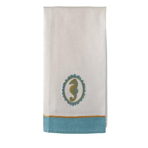 Grasslands Road Cotton Seahorse Tea Towel, 30 by 19-Inch (Horse Tea)