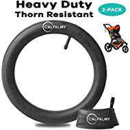 16'' x 1.75/1.95 Back Wheel Replacement Inner Tubes (2-Pack) for Graco Click/Go Jogging and BoB Revolution SE/Pro/Flex/SU - Made from BPA/Latex Free Premium Quality Butyl Rubber