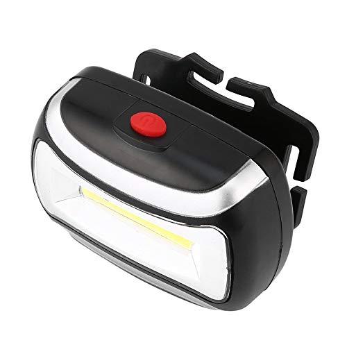 Negro Linterna LED recargable de 2000LM Linterna Linterna L/ámpara de luz de cabeza Durable impermeable linterna de pesca que acampa