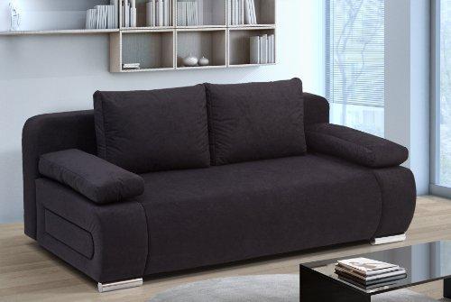 schwarzes schlafsofa m belideen. Black Bedroom Furniture Sets. Home Design Ideas