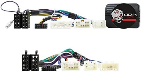 ACV Electronic Adaptateur de commande au volant Toyota Avensis T25 pour autoradios Alpine