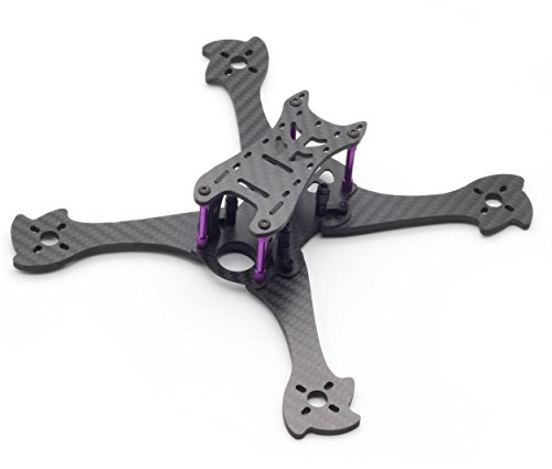 Usmile 210mm Carbon Fiber Quadcopter Quad X Frame for FPV Drone racing like QAV210 QAV250 QAV-R QAV-X Martian II RX220