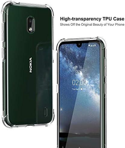 TesRank Funda Nokia 2.2, Carcasas Transparente Ultrafina TPU ...