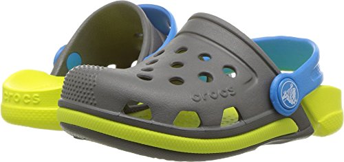 Crocs Unisex Kids' Boys & Girls Electro III Clog, Slate Grey