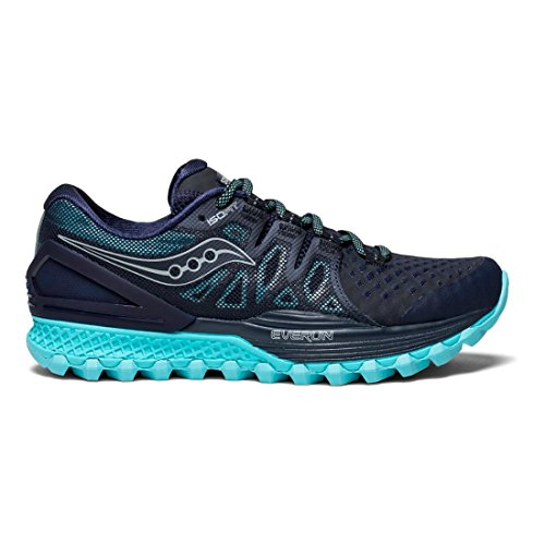 Saucony Women's Xodus Iso 2 Running-Shoes Navy/Blue