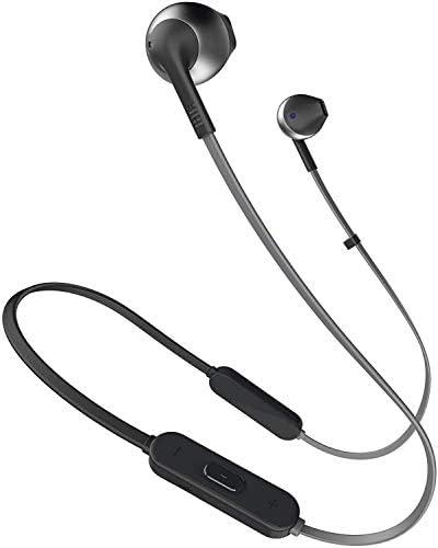 Jbl T205bt Pure Bass Wireless Metal Earbud Headphones Amazon In Electronics