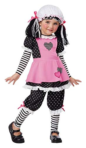 (Rag Doll Toddler Costume Raggedy)