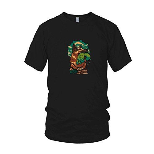 Super Mutant Dog - Herren T-Shirt, Größe: XXL, Farbe: schwarz