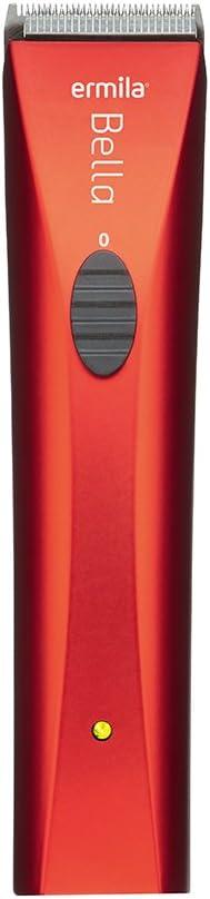 Ermila Bella - Cortapelos (batería y corriente) color rojo