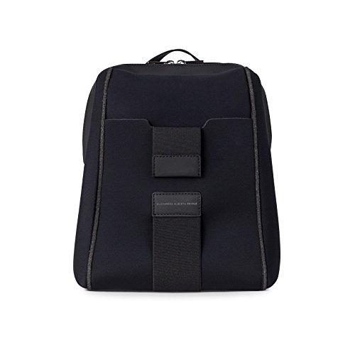 Noir in Antipluie et Made Très Chiolo Alexandra Princi Alberta léger Backpack Italy w4pnv61qI