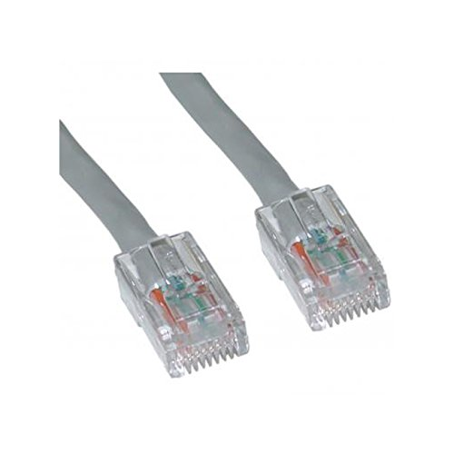 Offex Cat5e Ethernet Patch Cable 10-Foot OF-10X6-12110 Bootless Gray