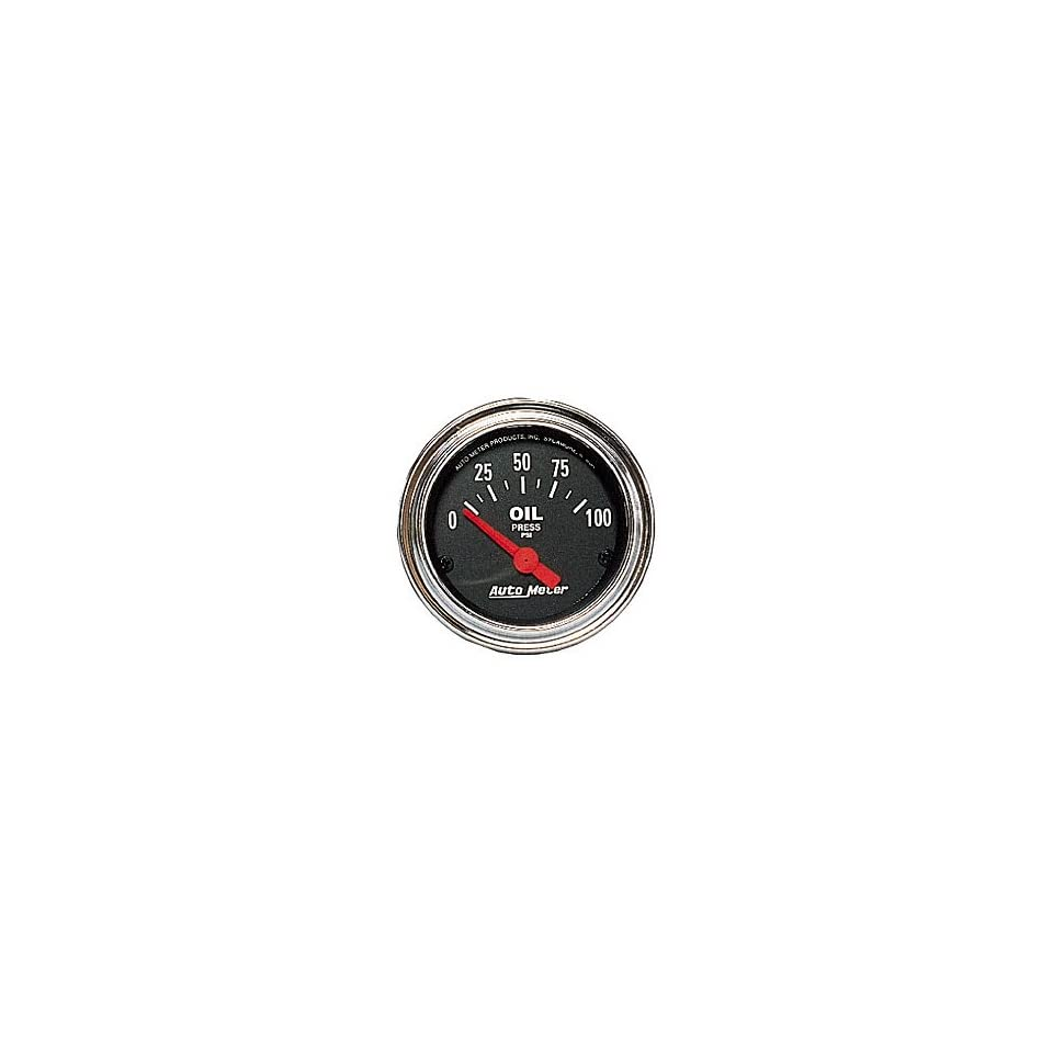 Auto Meter 2522 0 80 OIL PRESSURE GAUGE