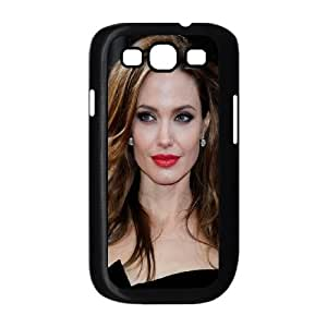 Celebrities Classy Angelina Jolie Samsung Galaxy S3 9300 Cell Phone Case Black Protect your phone BVS_551384