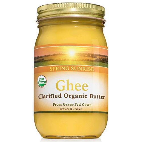 Spring Sunrise Organic Ghee (16 oz)