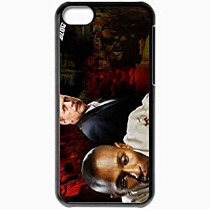 Personalized iPhone 5C Cell phone Case/Cover Skin 16 Blocks Bruce Willis Jack Mosley Mos Def Eddie Bunker Movies Black by icecream design