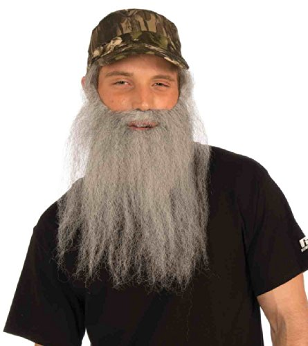 Duck Hunter Costumes (Hunter Camo Hat with Beard Set)