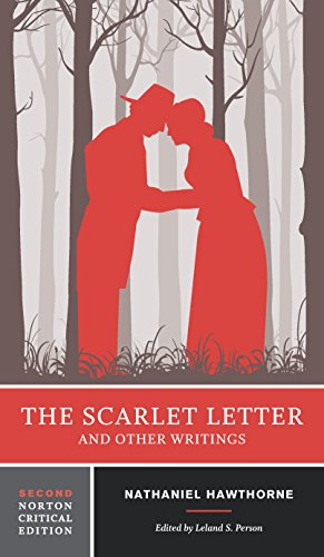 Book Cover Of The Scarlet Letter And Other Writings